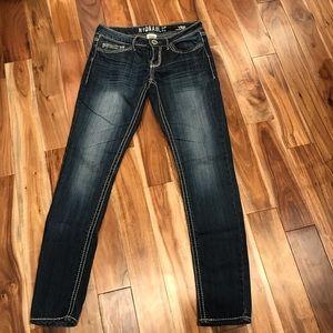 Hydraulic Vicki skinny jeans. Sz 7/8